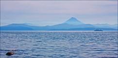 Авачинская бухта и Вилючинский вулкан