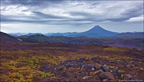 Вилючинский вулкан со склонов Горелого