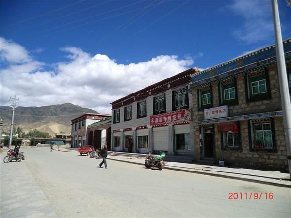Главная улица Самье