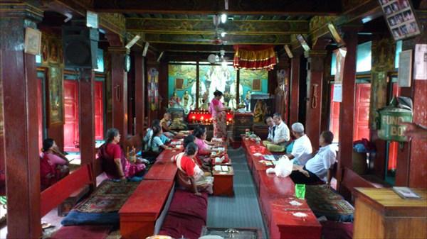 Занятия в храме