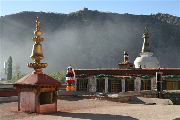 Вид из монастыря
