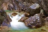 Аршан. Река Кынгарга. Первый водопад