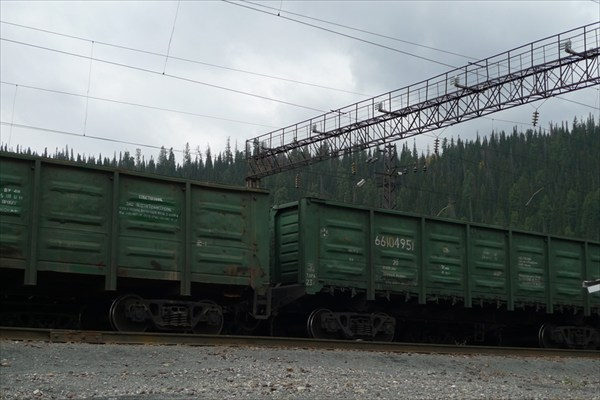 Зелёные вагоны