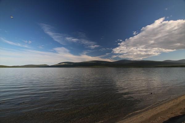 Умбозеро. Залив Тульилухт