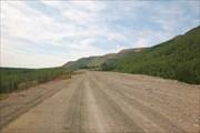 Дорога по западной стороне Умбозера (ГОК - Турбаза)