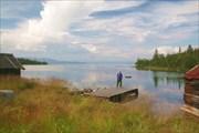По восточному берегу Умбозера. Пунча