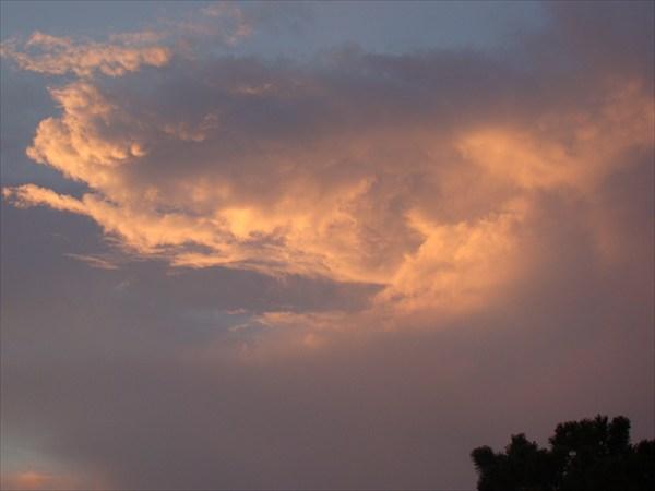 Облака над Буробаем