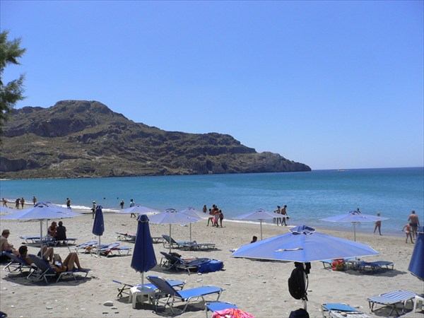 Южное побережье Крита