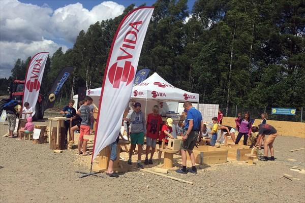 На ярмарке в честь открытия были и лесообрабатывающие фирмы