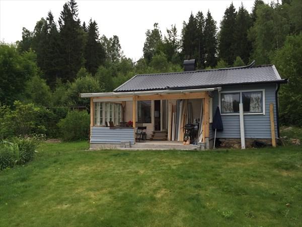 Летний шведский домик, в котором мы жили