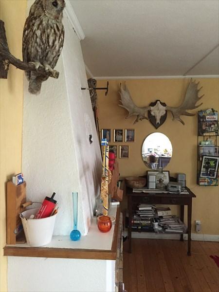 Обстановка внутри домика