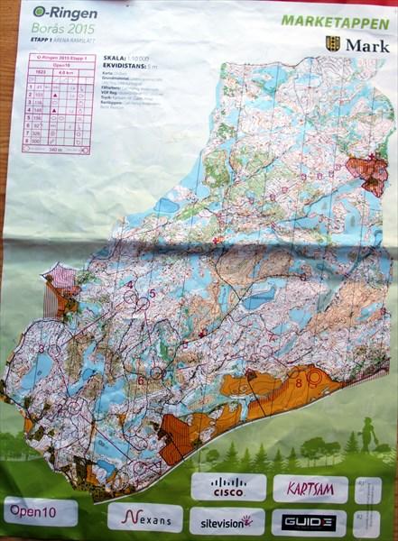 Карта первого дня