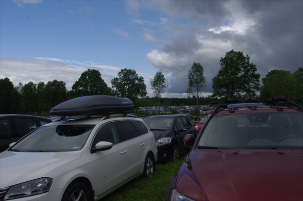 Бесконечная парковка