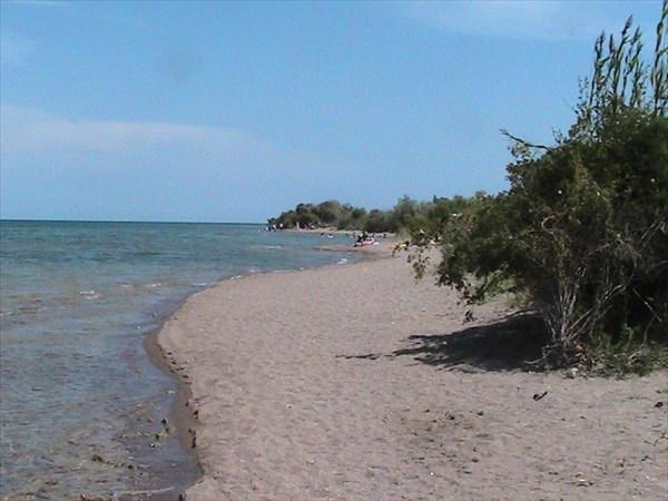 Пляж Иссык-Куля