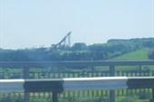 въезд в город,мост у реки Вятка