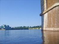 ГЭС вид с северной стороны