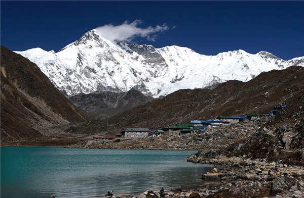 Гокио и гряда Махалангур Химал