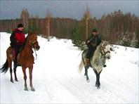 Конный маршрут к Галичьей горе (липецкая обл). Автор: Геннадий С
