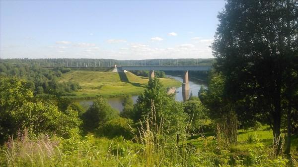 Ж.д. мост через р. Мста