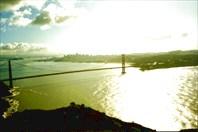 Мост Золотые Ворота 1-город Сан-Франциско