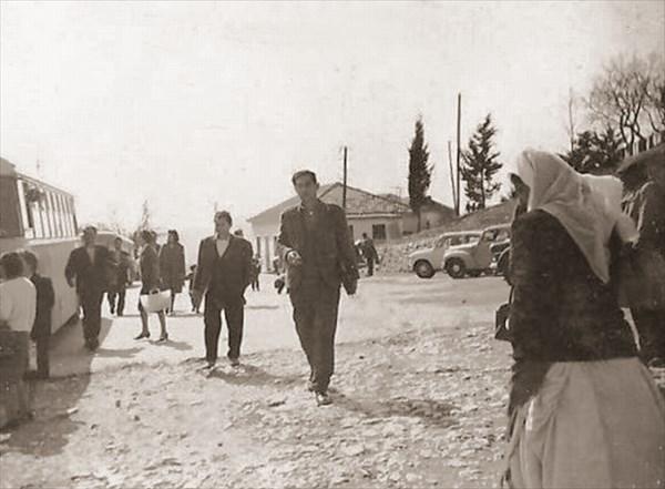 Автостанция в Баре. Старая фотография.