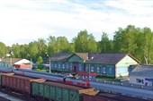 Вокзал в Сосногорске