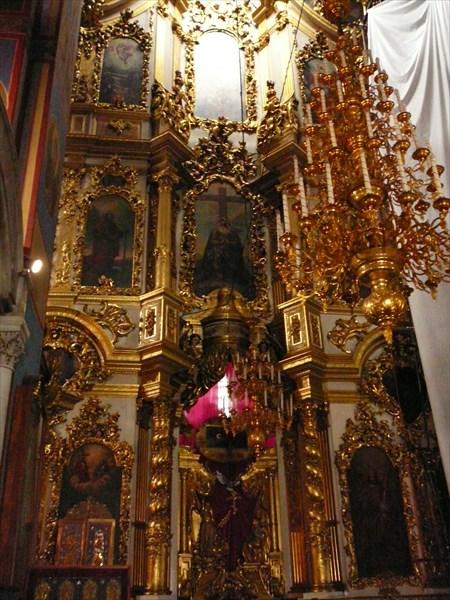 Иконостас в одной из церкви