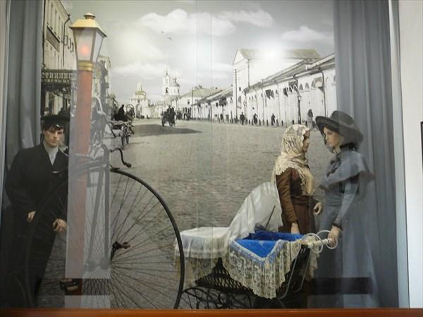 Старинные улицы Владимира. Экспозиция в музее