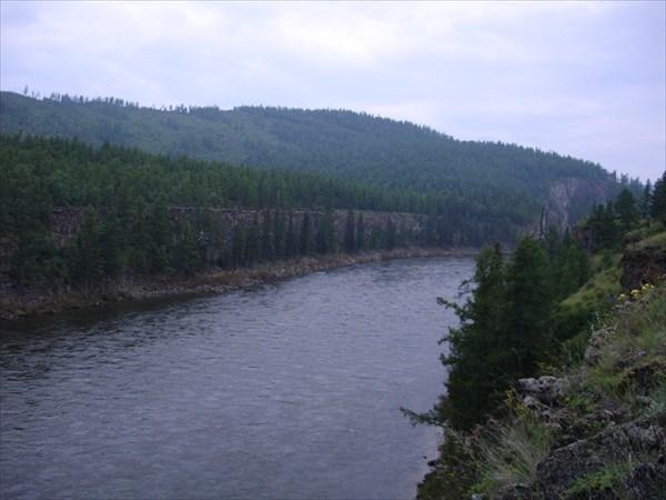 Ландшафт устья Жомболока.