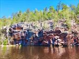 Беличьи скалы с воды
