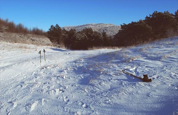 Перевал Нижний Шелен ( вид на север)
