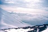 ледник Богдановича сверху