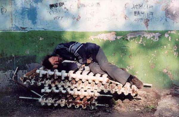 камчатский бомж