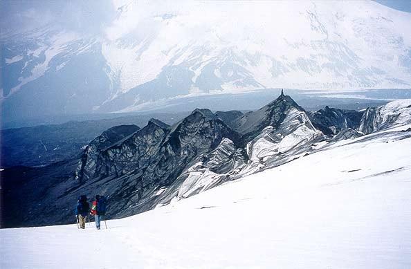 начало ледника Богдановича