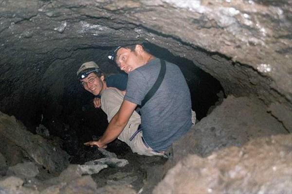 лавовая пещера
