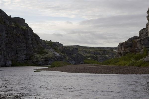 Нижний каньон. Ветер в каньонах всегда дует навстречу )