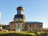 Ижма, старая церковь
