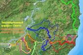 Запланированные маршруты Савича и Арсеньева