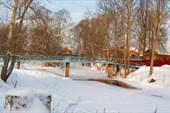 Река Нерехта в черте одноименного города