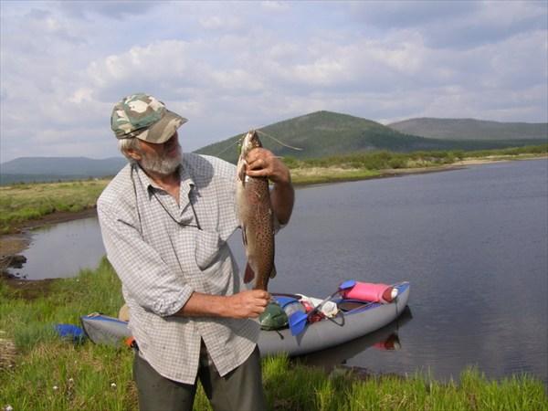 Икатские озера, первый ленок