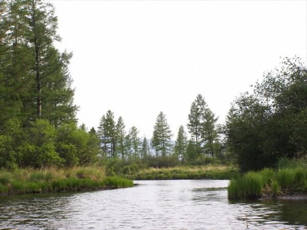 Икатские озера, протока