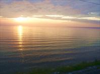 Рассвет на Байкале