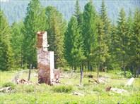 Развалины метеостанции на перевале