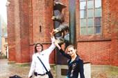 Скульптура Бременских музыкантов