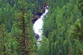 Фото 14. Вид со стоянки на водопад Тегеек.