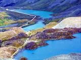 Фото 92. Вид с пер.Неизвестный в долину р.Б.Калагаш.