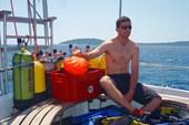 Хорватский полисмен проходит курс OWD