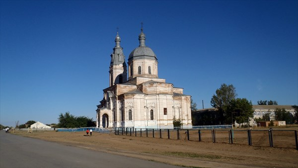 Храм в н.п.Соленое Займище Астраханской обл.