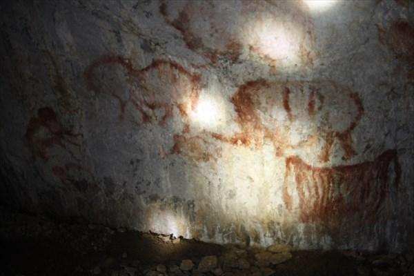 В Каповой пещере