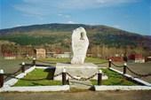 Кошурниково. Памятник Александру Михайловичу со товарищи.